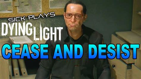 spray paint dying light dying light cease and desist find karim spray paint