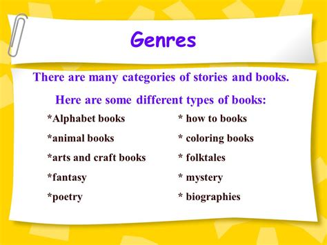 types of picture books genres in literature there are many different kinds of