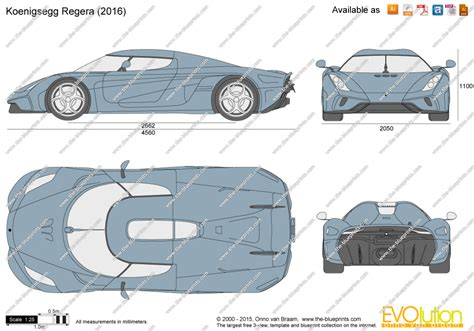 blueprint drawing the blueprints vector drawing koenigsegg regera