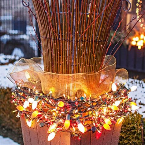 outdoor light decoration 50 best outdoor decorations for 2018