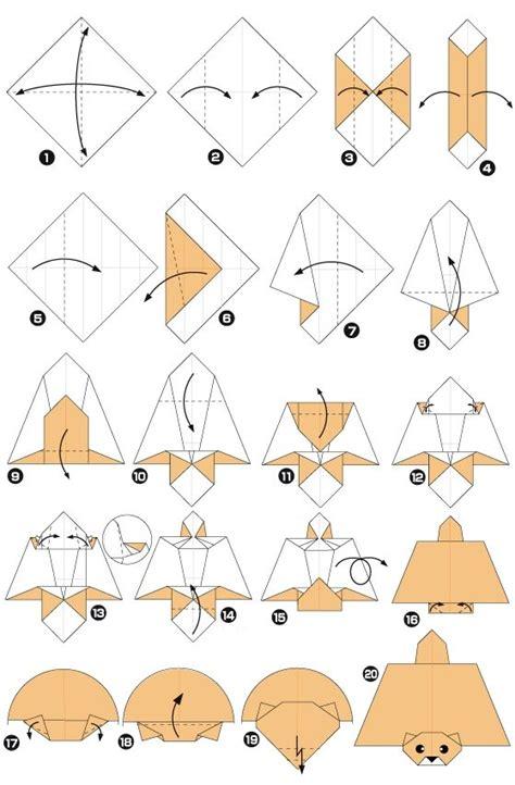 origami squirrel flying squirrel preschool activities