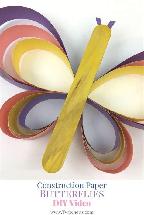 butterfly construction paper craft 17 best ideas about construction paper crafts on