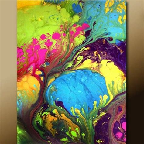 how to pour acrylic paint on canvas acrylic pouring just this techniques