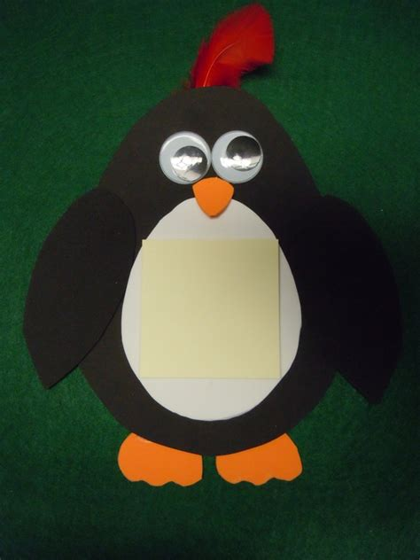 penguin craft projects penguin crafts make a penguin magnet from craft foam