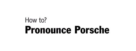 how to pronounce this is how to pronounce porsche dpccars