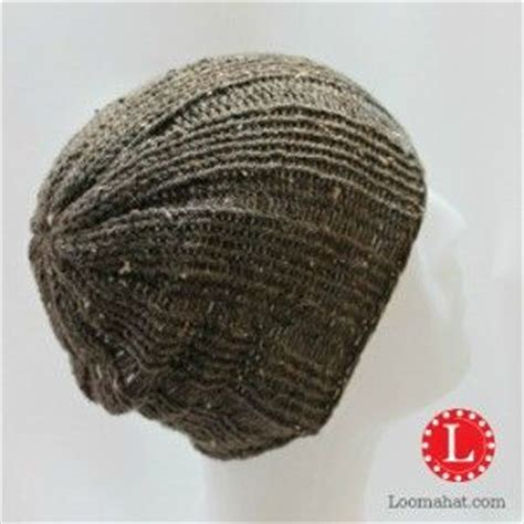 mens slouchy beanie knitting pattern free loom knit mens brimless rib stitch slouch beanie free