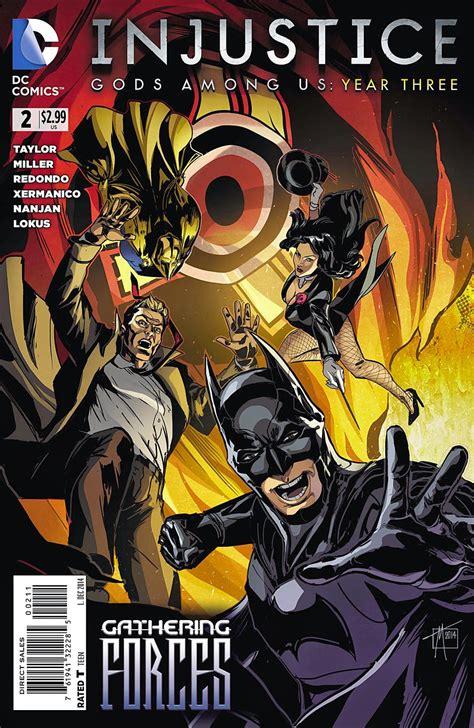 injustice 2 vol 1 injustice year three vol 1 2 dc comics database