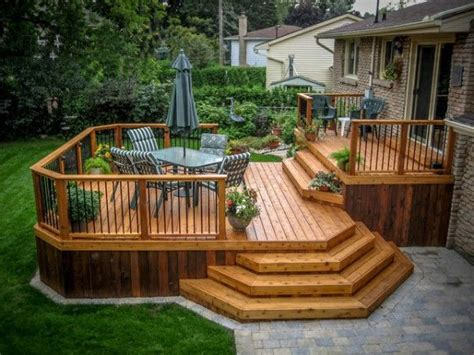 deck to patio designs 10 best ideas about deck design on backyard