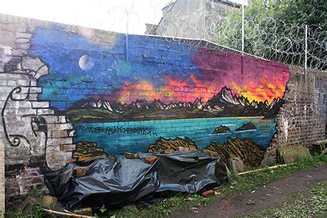 spray paint edinburgh scottish landscape paintings prints commissioned