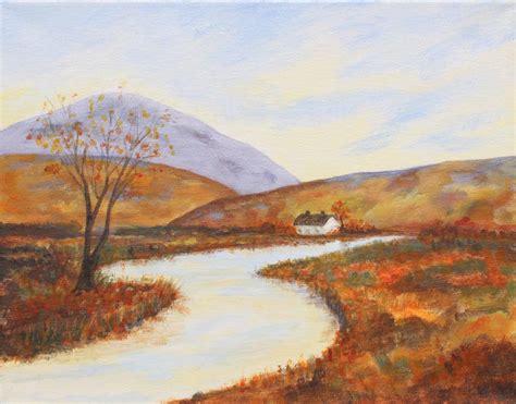 painting acrylic landscapes easy way acrylic landscape painting workshop lapeer association