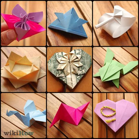 how to make origami things easy 7 ways to make origami wikihow