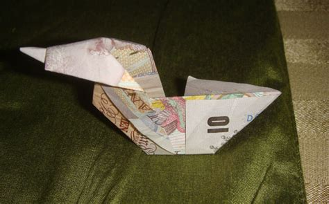 10 pound note origami money origami duck
