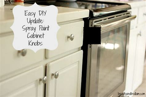 Spray Painting Cabinet Knobs Enough Things Kitchen