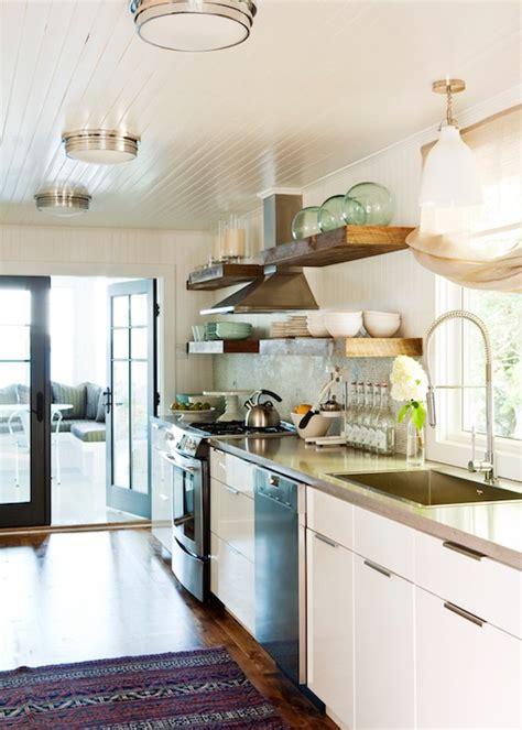 flush mount lighting for kitchen beadboard ceiling contemporary kitchen