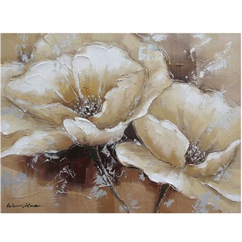acrylic painting reproduction earth tones wall bellacor