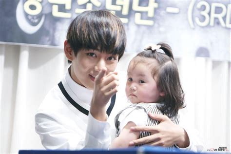 with children taehyung with taewithkids