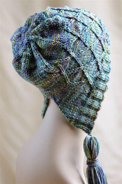 how to knit a beanie with needles in bloom knitted bonnet allfreeknitting