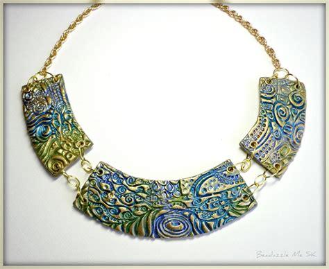 polyclay jewelry jewelry sale bib statement necklace choker jewelry