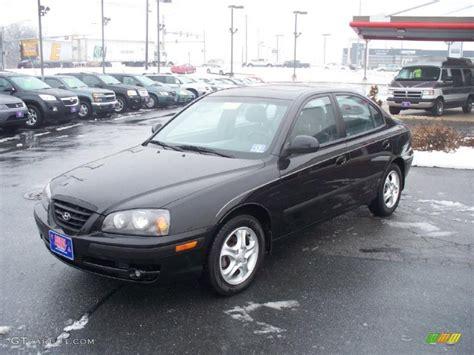 2005 Hyundai Elantra Gt by 2005 Black Obsidian Hyundai Elantra Gt Sedan 43991429