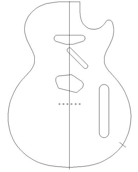 wood design plans complete guitar pickguard templates