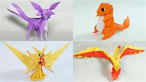 mew origami origami origami fold your own pikachu