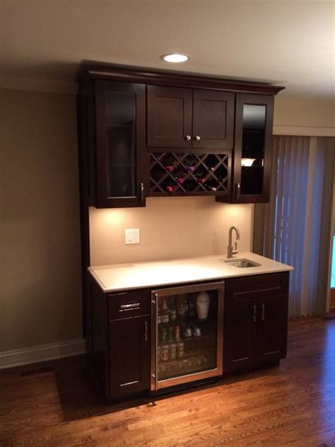 home bar counter bar countertops other home bar chicago by optimum