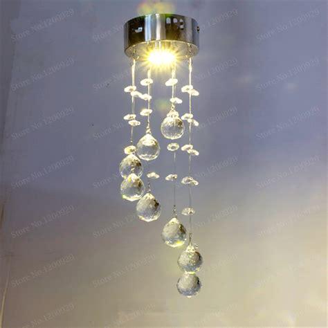 spiral chandeliers d25cm modern led spiral lustre chandelier light