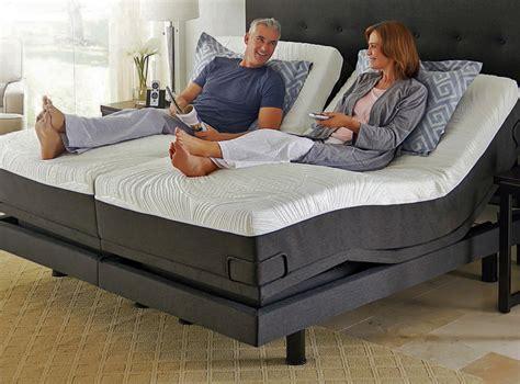 mattress for bed reverie 8q adjustable bed foundation