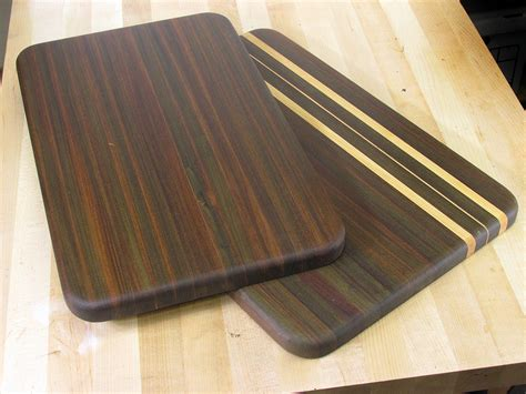 woodworking cutting board here s one way to make a cutting board with ipe