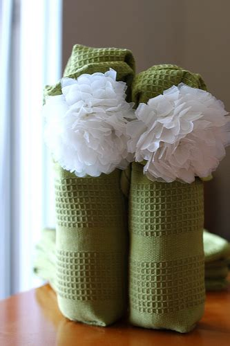 a clever way to wrap a wine bottle weddingbee