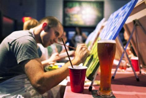 paint nite pass 50 a 2 hour bar painting class for one or two persons