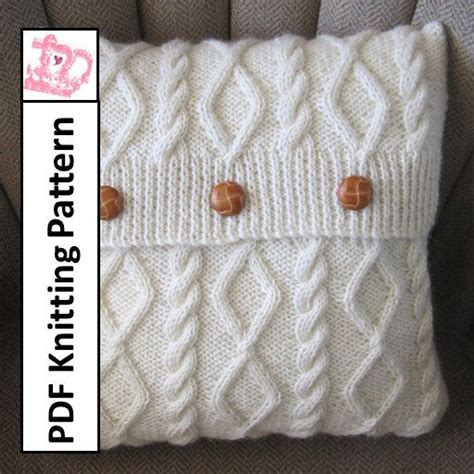 cable cushion cover knitting pattern discover and save creative ideas