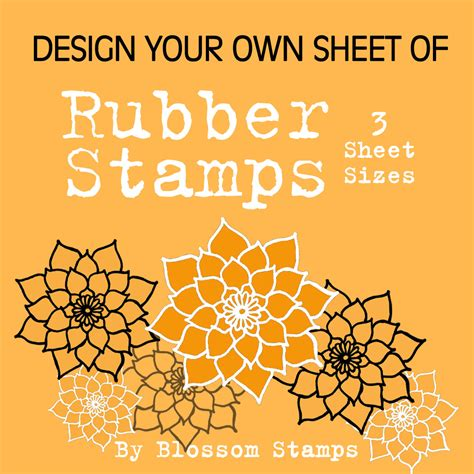 create your own rubber sts design your own custom unmounted photopolymer rubber sts