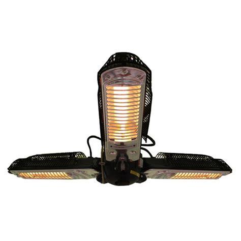 sense halogen patio heater sense 1 500 watt black umbrella mounted halogen