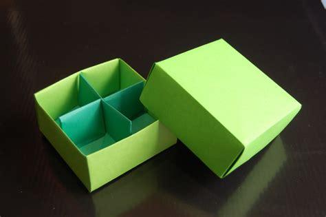 origami box in a box origami box traditional box divider paolo bascetta