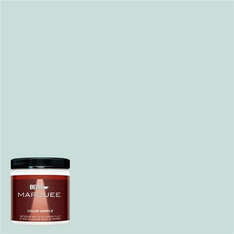 home depot paint one coat behr marquee 8 oz m470 4 azure lake one coat hide