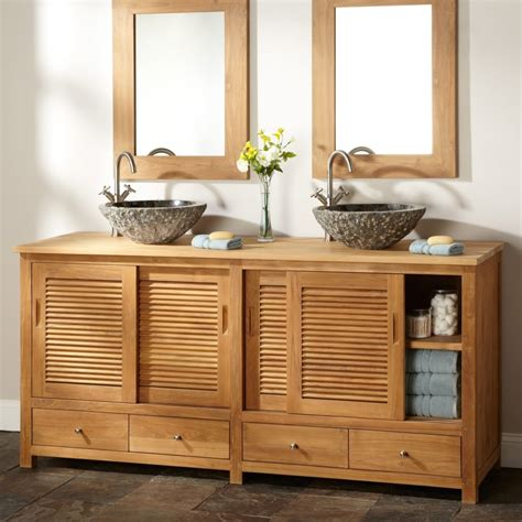 wooden cabinet with doors modern brown unfinished wooden bathroom cabinet with