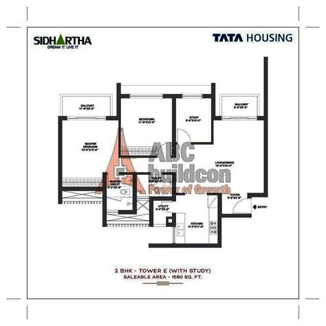 Dlf New Town Heights Floor Plan tata gurgaon gateway floor plan floorplan in