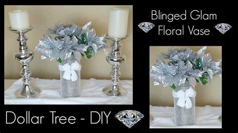 bling home decor diy dollar tree bling vase glam home decor
