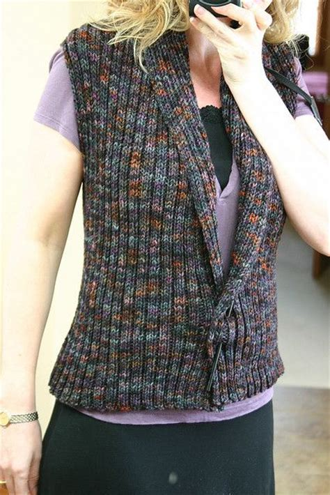 easy knit vest for beginners knit vest vests and easy on