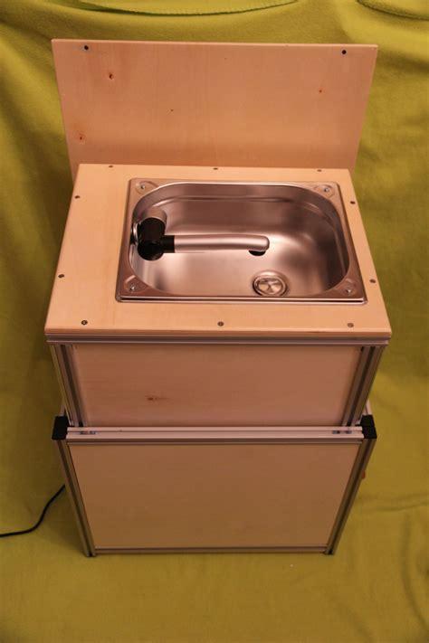 spülbecken abdeckung holz ultrakompakt waschbecken modul die selbstbau anregung