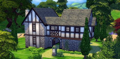 Create A House Floor Plan Online Free how to build a tudor house in the sims 4 sims online