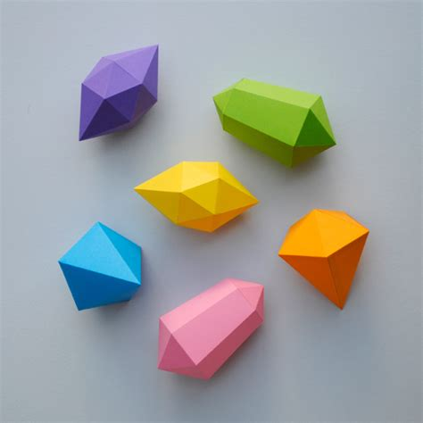 origami gem things to make with paper