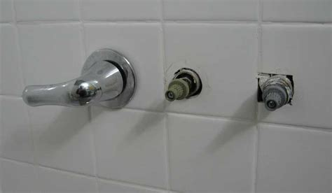 Pfister Kitchen Faucets replacing a three handle tub shower faucet with moen posi