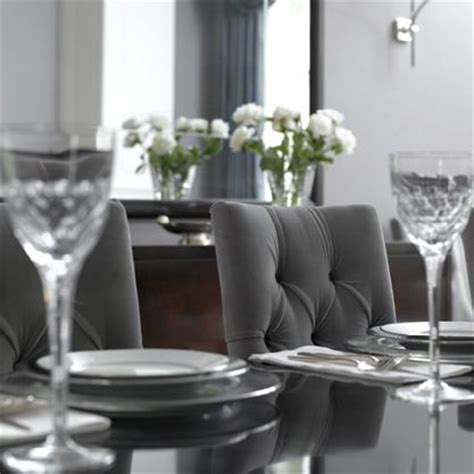 Gray Dining Room Chairs gray velvet dining chairs transitional dining room