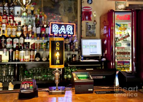 Bar Styles by Register At An American Style Bar Photograph By Jaak Nilson