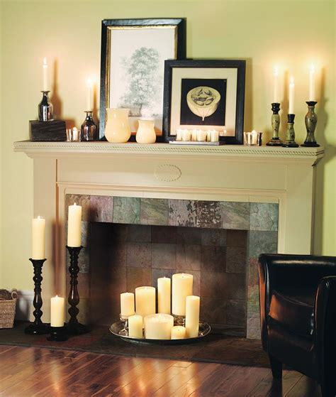 fireplace candles candle fireplaces on fireplaces faux
