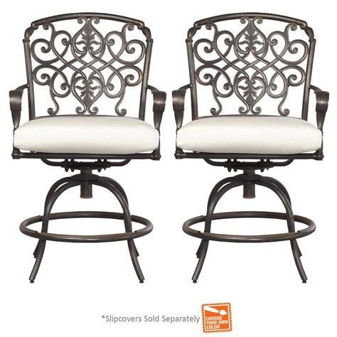 hton bay swivel patio chairs hton bay swivel patio bar chairs 28 images crckt s