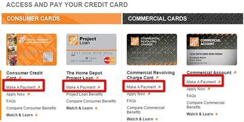 make home depot credit card payment home depot credit card bill pay mycheckweb