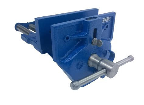 woodworking vise yost m7ww rapid acting wood working vise 7 quot blue